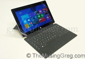 Microsoft Surface 2 with Touch Cover