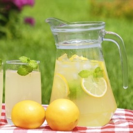 jug of lemonade