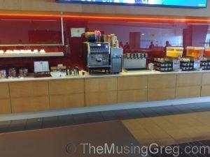 Buffet - Qantas Club, Adelaide Airport