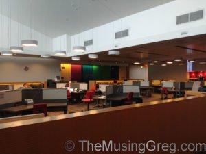Business area - Qantas Club, Adelaide Airport